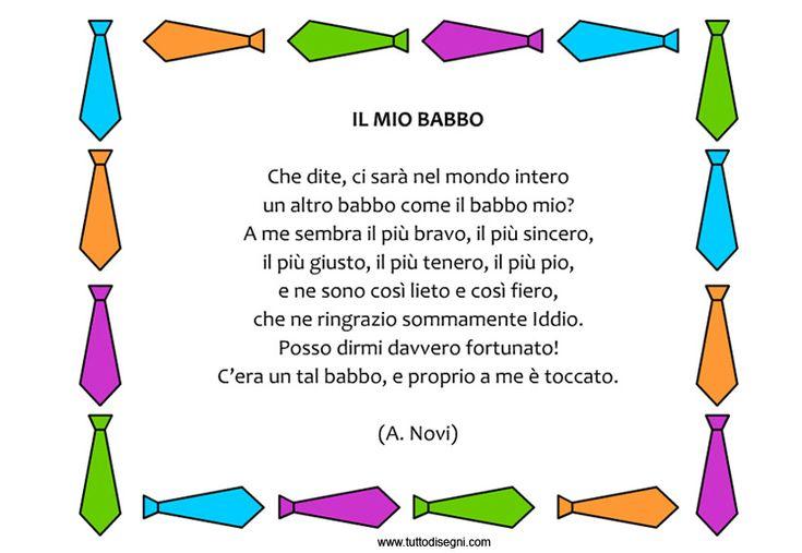 Poesia Il mio babbo