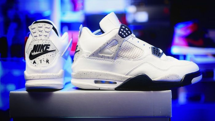 "Air Jordan 4 '89 OG ""White Cement"""