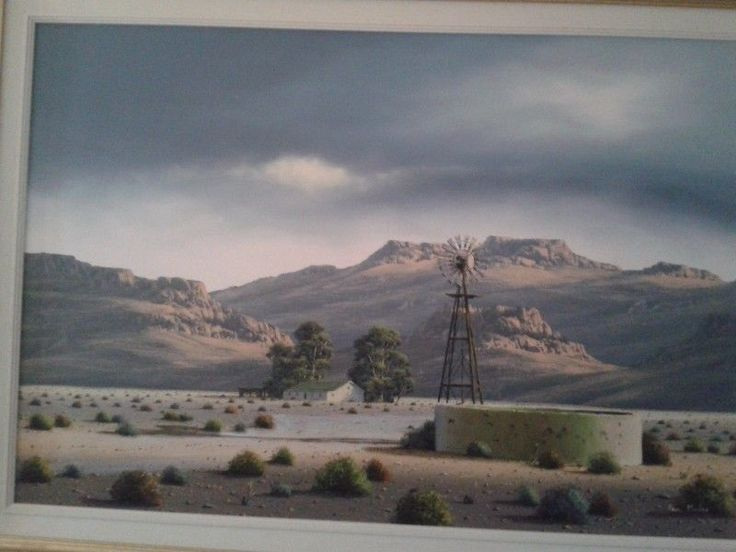 Paul Munro oil painting