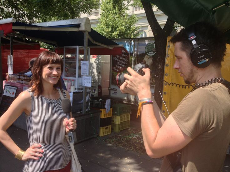 The Beer Garden story... Behind the scenes: the first episode of Praguing Around! - Blog