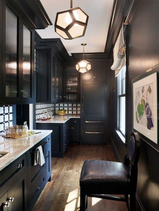 384 Best Kitchensbreakfast Nooksbars Images On Pinterest Amazing Dark Kitchen Designs Decorating Design