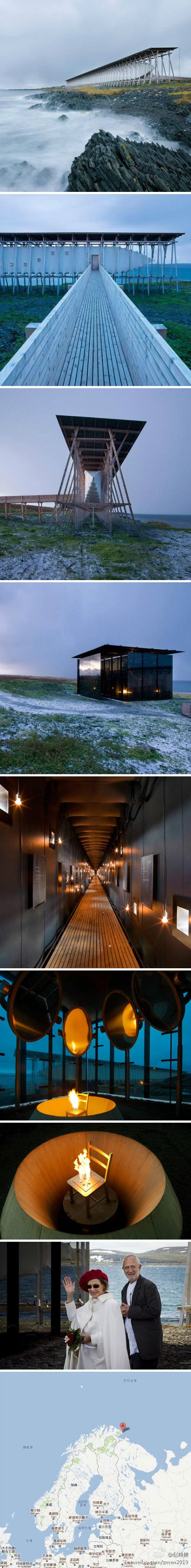 Steilneset Memorial in Vardø, Norway by Peter Zumthor and Louise Bourgeois More