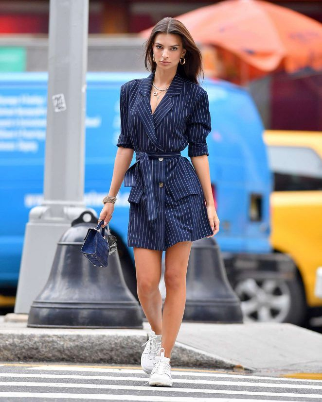 Emily Ratajkowski in Mini Dress -12 - GotCeleb  74a743e3e