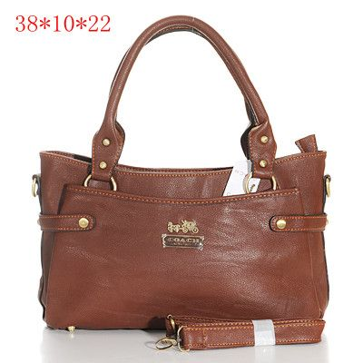 38b50d9b60 ... Coach Madison Leather New Medium Tote Brown Coach-0735 - 54.41 Coach ...