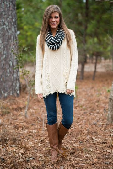 Roughed Up Sweater, $56.00, The Mint Julep Boutique