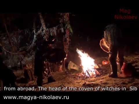 The celebration of Halloween in Siberia