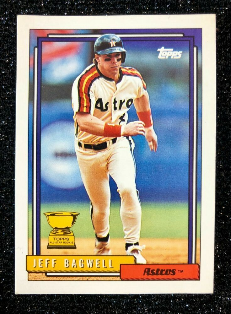 1992 Topps Jeff Bagwell AllStar Rookie 520 Baseball Card