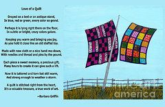 Barbara Griffin Clothesline Images - Love of a Quilt  by Barbara Griffin