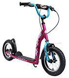 BIKESTAR® Patinete Scooter Premium ★ Mejor vendido en su categoría para niños de 7 años ★ Edición 12s Sport ★ Berry Violeta