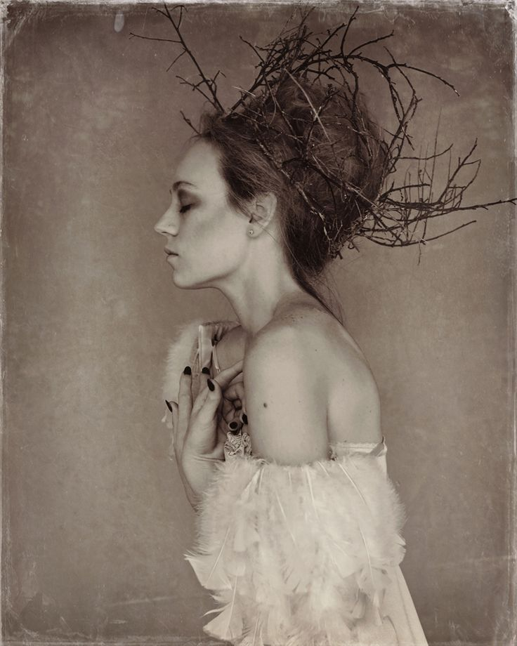 Hand Made Twig Crown