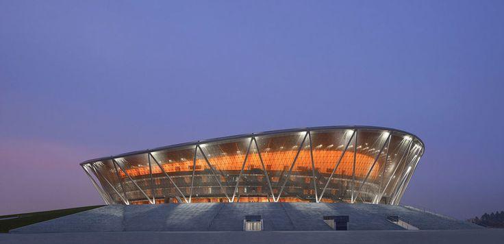 Gmp Architekten - Von Gerkan, Marg und Partner · Basketball stadium in Dongguan · Divisare