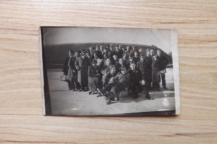 Stare zdjęcie kartka pocztowa