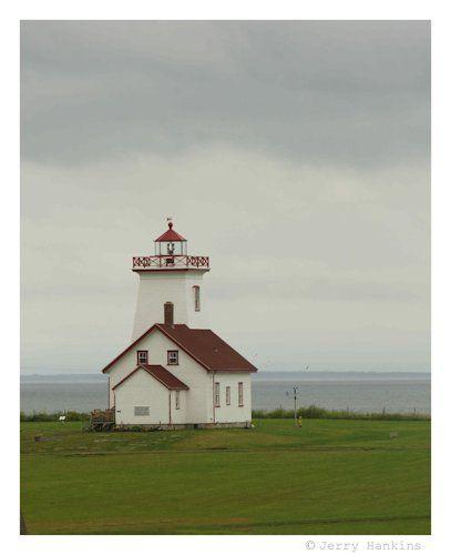 Wood Islands Lighthouse Wood Islands, Prince Edward Island Canada  Photo by Jerry Hankins