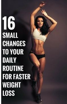 small changes to lose weight fast