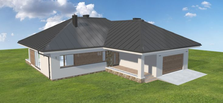 Projekt domu Ambrozja 8 138,15 m2 - koszt budowy - EXTRADOM