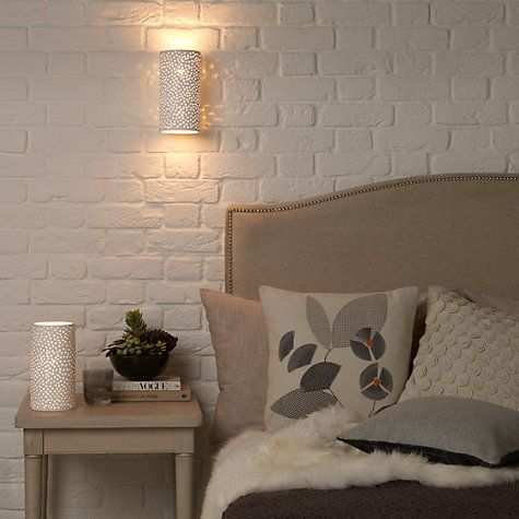buy john lewis leonis wall light online at