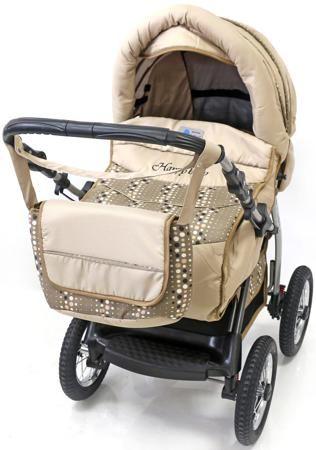 Diana PC  — 9999р. --------------------------------------------- Детская коляска-трансформер Bart-Plast Diana PKL - стильная детская коляска, предназначенная для малышей с самого рождения и до 3-х лет. Надувные колеса на подшипниках гарантируют коляске плавный ход. Простой и легкий механизм складывания и раскладывания облегчает хранение и транспортировку. Невероятно стильный дизайн сочетается в этой коляске с функциональностью и комфортом.  Особенности шасси:  Прочная металлическая рама…