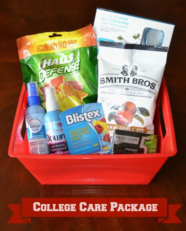 College Care Package Ideas Suggestions On What To Include That Your
