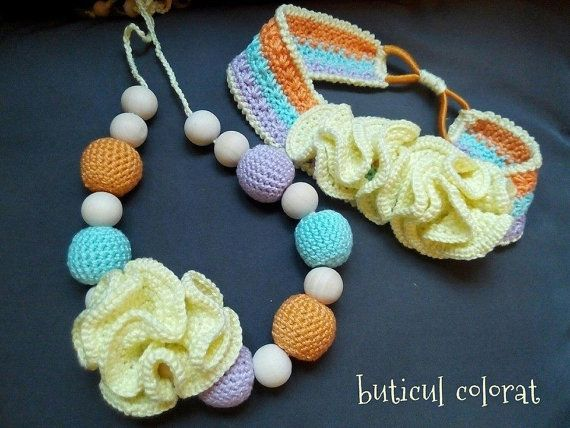 Baby shower gift set for baby and mommy baby by ButiculColorat
