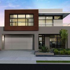 17 mejores ideas sobre modelos de casas modernas en for Modelos de casas minimalistas de dos plantas