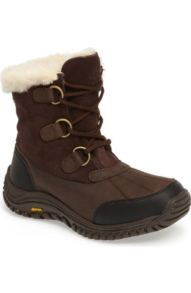 UGG® Ostrander Waterproof Winter Boot (Women) available at #Nordstrom