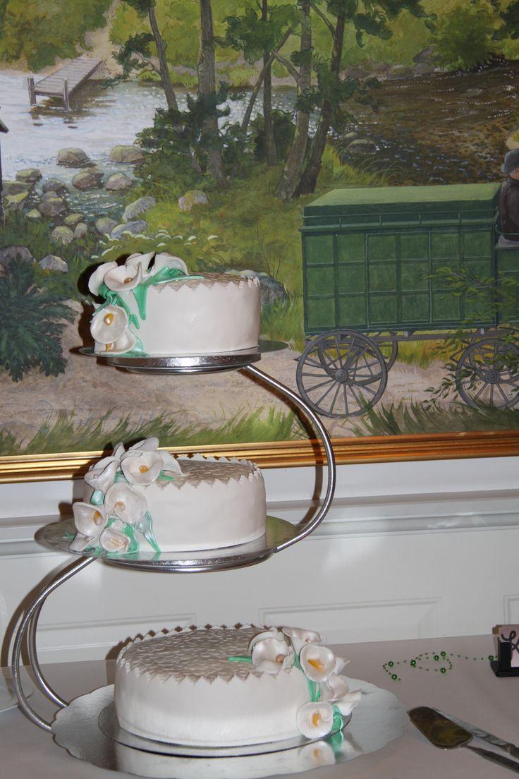 Bröllopstårta Bubbetorpsgård