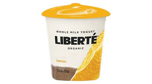 Libertè® Organic Whole Milk Yogurt Lemon