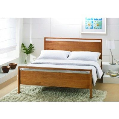 Ocasis Double Wooden Bed Frame