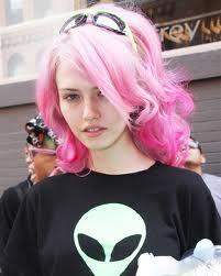 pretty pastel hair colour