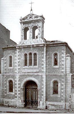 La antigua iglesia de la Sagrada Familia : Vallisoletvm
