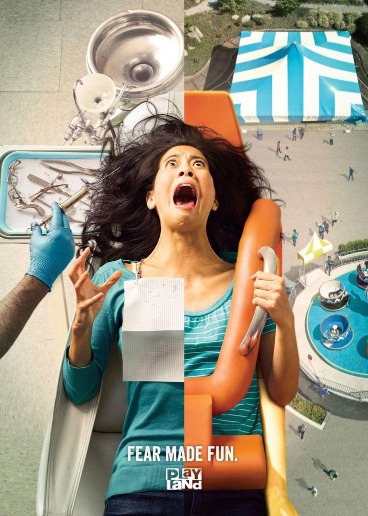 Fear made fun playland advertising pinterest canada - Posters para gimnasios ...