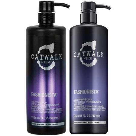catwalk fashionista violet shampoo & conditioner duo