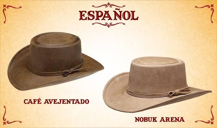 #Sombreros modelo español, Café y Nobuk