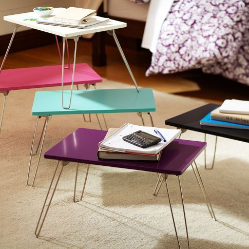 Lap Desk With Foldable Legs Perfect For Doing Work During Study Hall