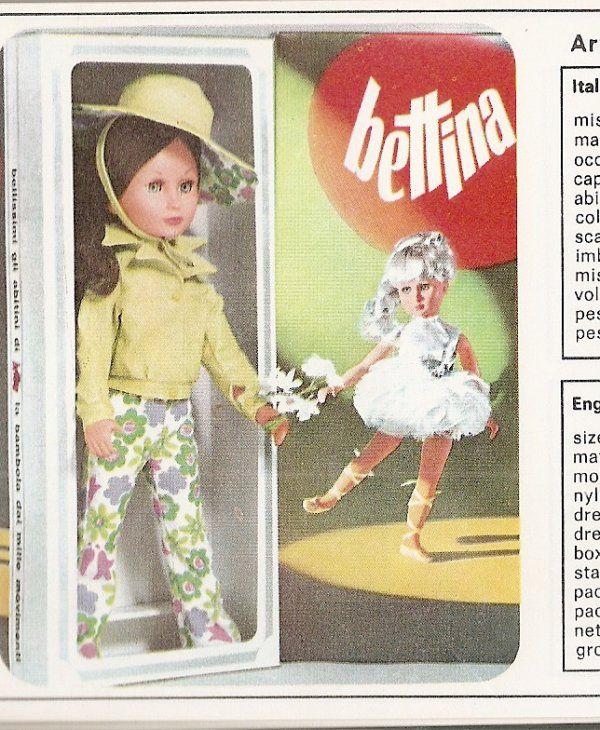 """Catalogo Bettina 1968 mod. """" Serenella"""""""