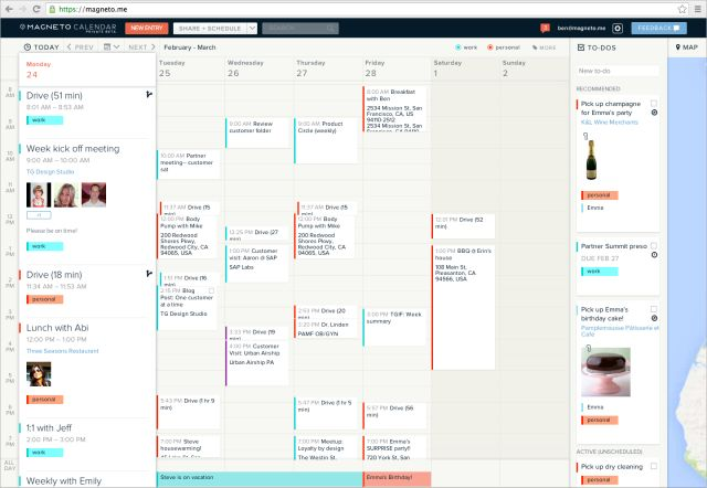 Magneto Gives the Online Calendar a Rethink | Re/code