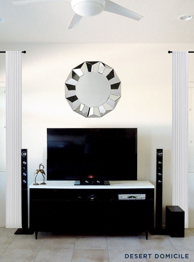 Wall Decoration Above Tv : Best ideas about above tv decor on small