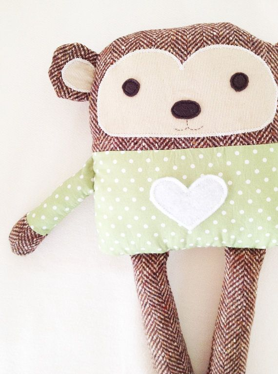 Monkey Sewing Pattern PDF