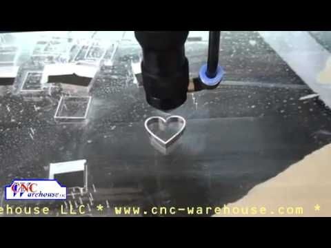CNC Warehouse Cutting Acrylic with 150 Watt Laser