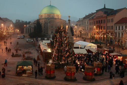 Christmas Pécs Hungary