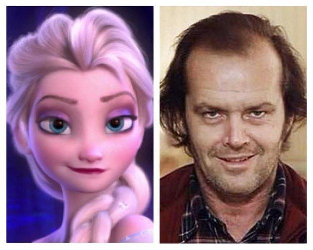"Ham then looks at the movies' main characters, Elsa and Jack Torrence. | This Fan Has A Wild Theory That ""Frozen"" And ""The Shining"" Are The Same Movie"