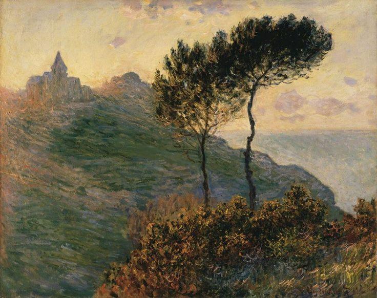 Claude Monet (French, Impressionism, 1840-1926): The Church at Varengeville, 1882. Oil on canvas. Barber Institute of Fine Arts, University of Birmingham, Birmingham, UK.