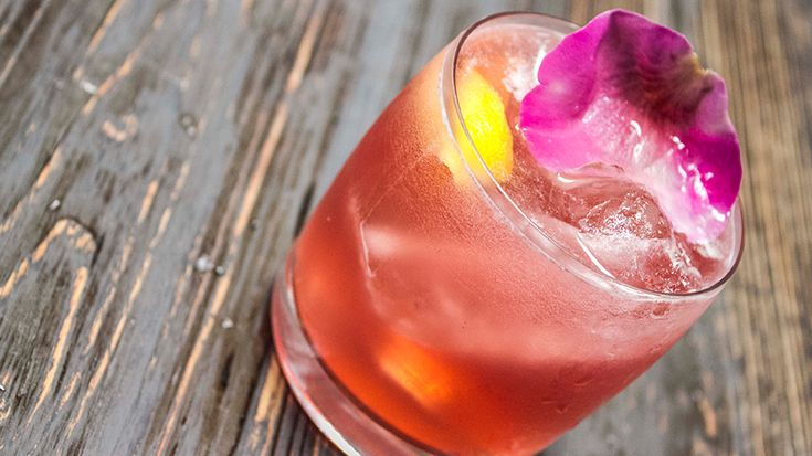 Pink Dragon. Inspired by the citrus and floral notes of Tequila Casa Dragones Blanco, Arturo Rojas, owner and mixologist of Mexico City's Confit, crafted the Pink Dragon cocktail using homemade tea roses, lemongrass and cranberry juice.