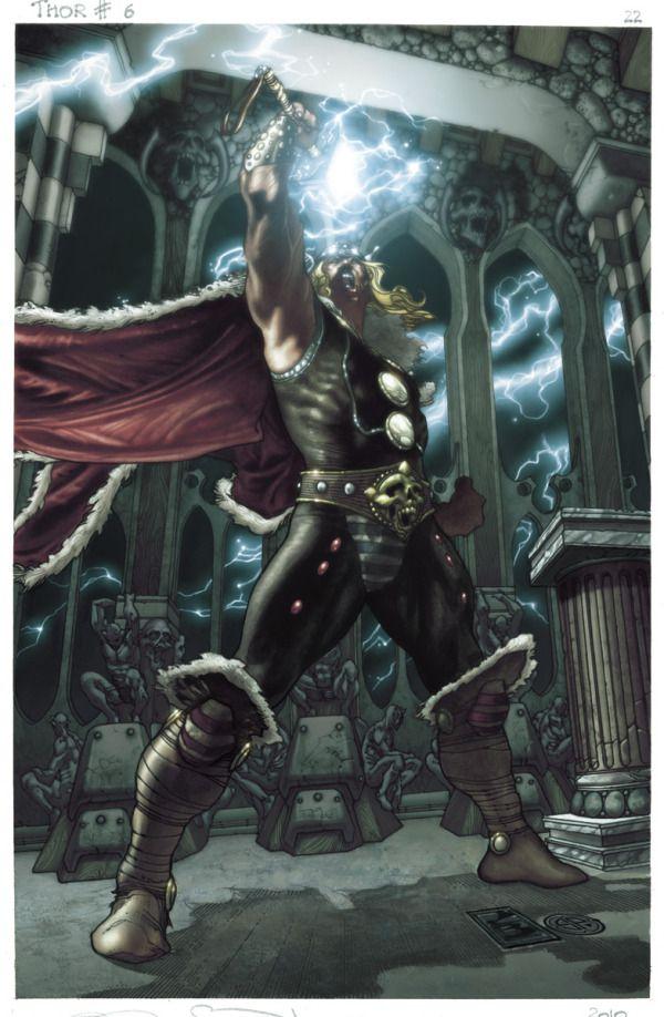 thor (marvel) by greg horn