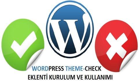 WordPress Theme-Check Eklentisi
