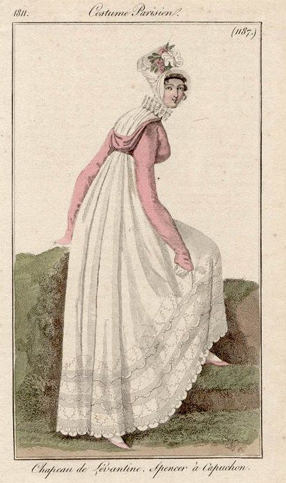 Costume Parisien (1187), 1811.
