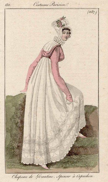 Costume Parisien (1187), 1811.