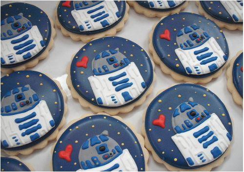 R2 cookies Star Wars