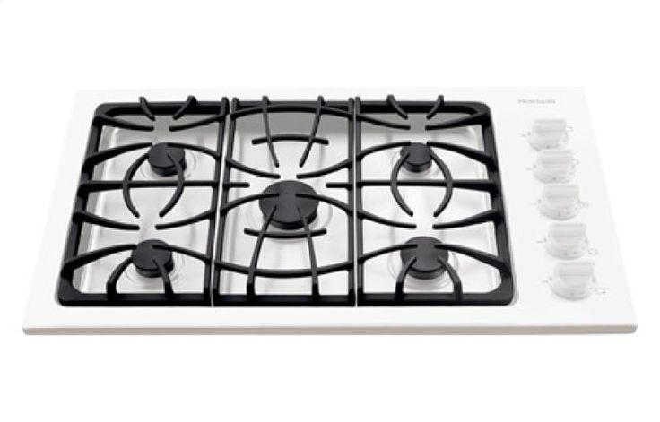 """FGGC3645KW by Frigidaire Canada in Winnipeg, MB - Frigidaire Gallery 36"""" Gas Cooktop Shop JS Furniture Gallery for all your appliance needs.  1725 Ellice Avnue, Winnipeg, http://furnitureandmore.ca"""