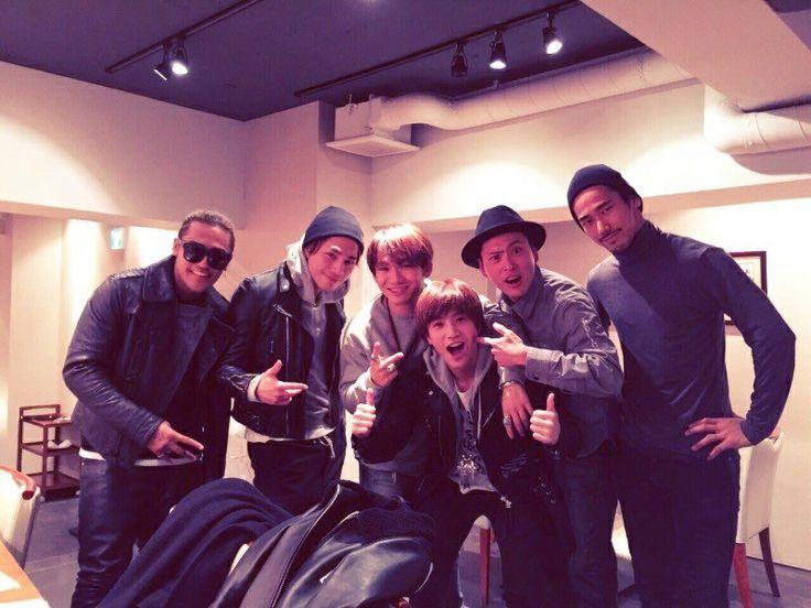 Tosaka Hiroomi & Iwata Takanori & Yamashita Kenjiro & Elly & Naoto & Naoki Sandaime J Soul Brothers